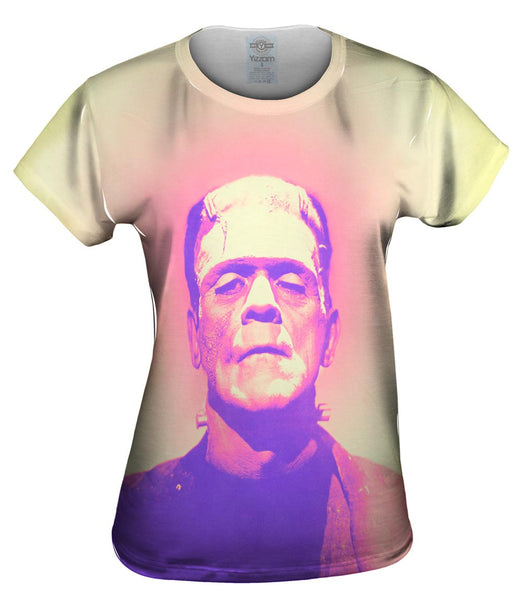 Popart Frankenstein Monster Pastel Womens Top