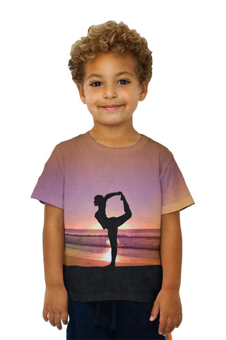 Kids Beach Yoga