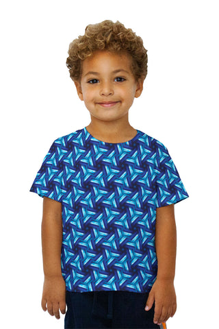 Kids Blue Sky Black Sea Murano Pattern