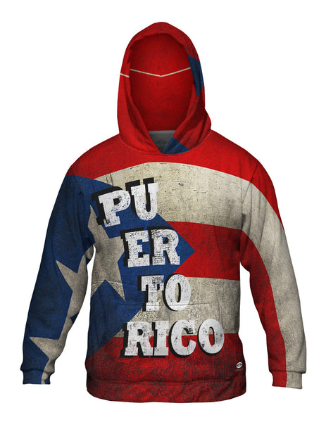 Dirty Puerto Rico Mens Hoodie Sweater