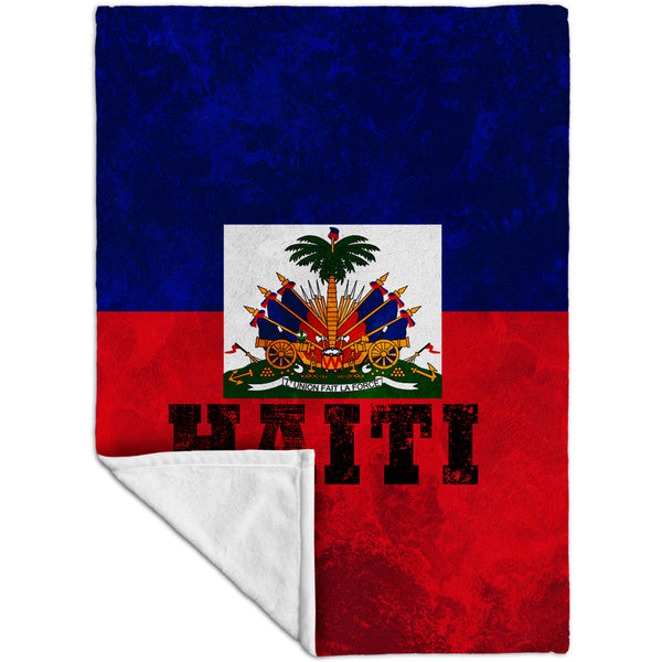 Dirty Haiti Fleece Blanket