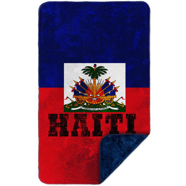 Dirty Haiti MicroMink(Whip Stitched) Navy