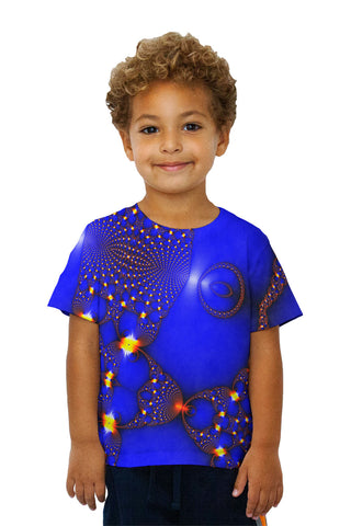 Kids Blue Fractal Web