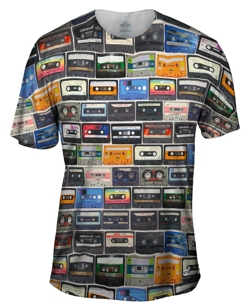 Love The 80S Mix Tapes Mens T-Shirt