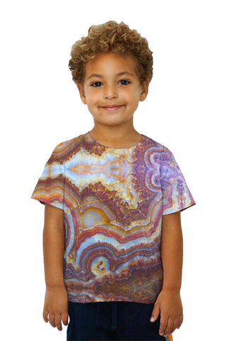 Kids Brown Marble Fractal