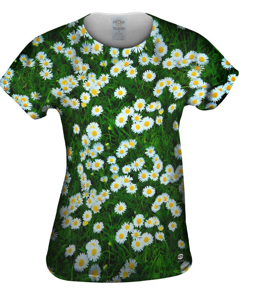 Field Of Daisies Womens Top