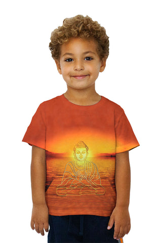 Kids Buddha Deity Sunset Glow