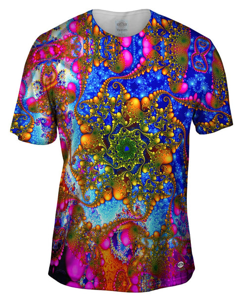 Psychedelic Curl Mens T-Shirt