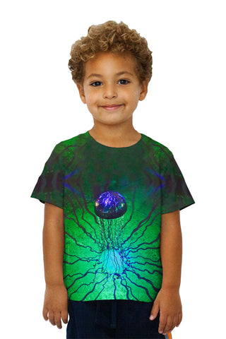 Kids Blue Electric Jelly Fish