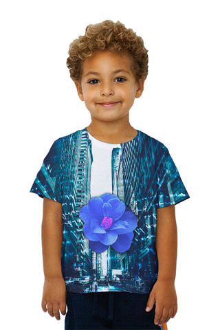 Kids City Blue Flower Script