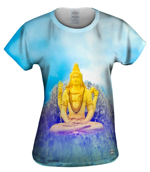 Lord Shiva Meditation Womens Top