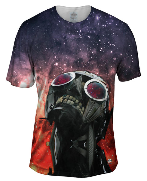 Humanity Wont Compute Space Galaxy Mens T-Shirt