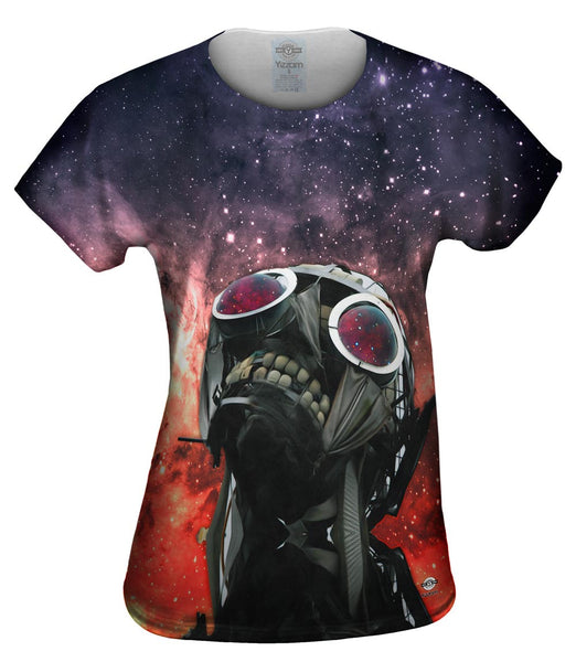 Humanity Wont Compute Space Galaxy Womens Top