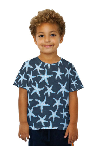 Kids Bouncy Starfish Dark Blue