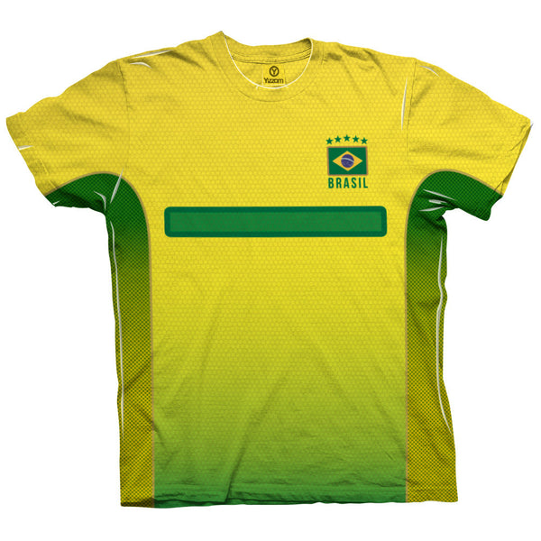 Brazil - #10 - Order Number Mens T-Shirt