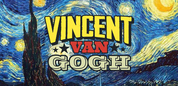 Van Gogh All Over Print T-Shirts