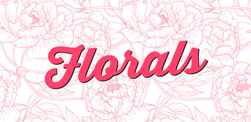 Florals All Over Print T-Shirts