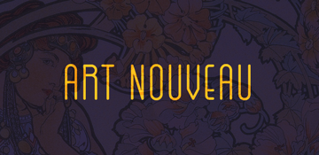 Art Nouveau All Over Print T-Shirts