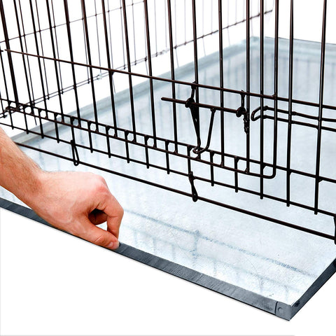 Heavy Duty Multipurpose Replacement Galvanized Metal Tray