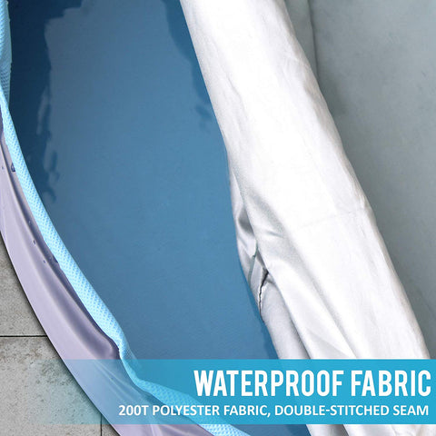Cover for Foldable Pet Pool Collapsible Tub