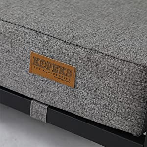 Replacement - Cover For Elevated Foam Dog Bed