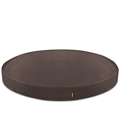 REPLACEMENT Cover For Round Deluxe Dog Bed Brown - Extra Large