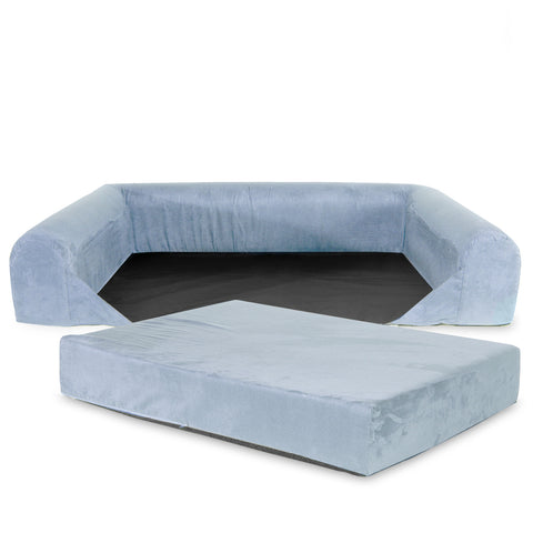 REPLACEMENT Cover For Sofa Lounge Dog Bed - Extra Large - Grey