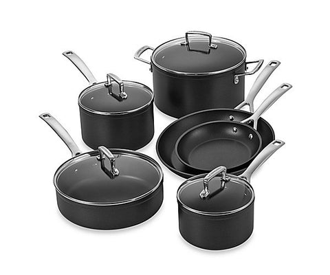Le Creuset Non Stick Hard Anodized 10 Pc. Set