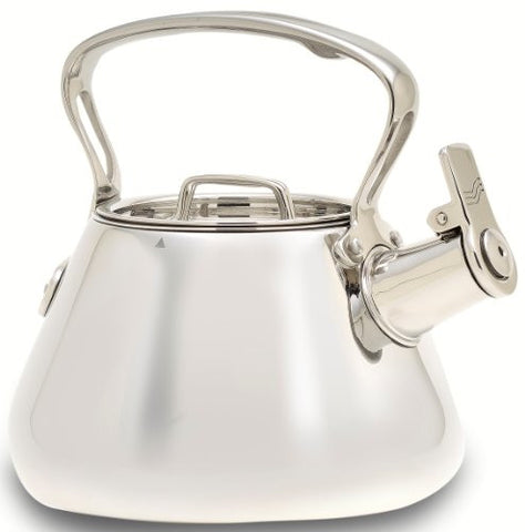 All Clad 2 Qt. Stainless Steel Whistling Kettle