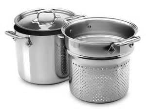 All Clad Pasta Pot and Insert