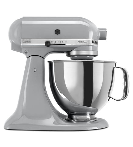 Kitchen Aid Artisan Stand Mixer  Silver Metallic
