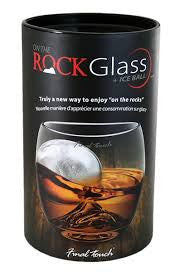 On The Rocks Glass & Ice Ball