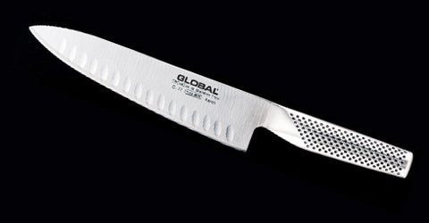 "Global 8"" Chef Knife Fluted"