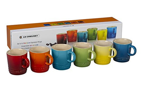 Le Creuset Espresso Mugs Set of 6