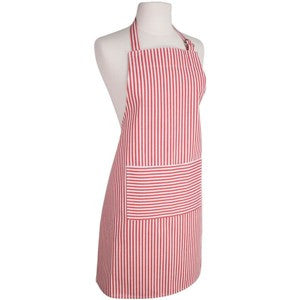 Now Designs Apron - Red Stripes