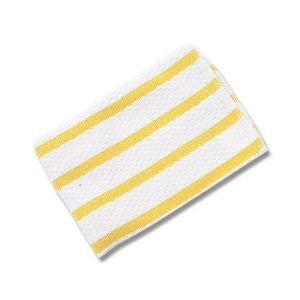 Now Designs Tea Towel Basketweave - Yellow Stripe