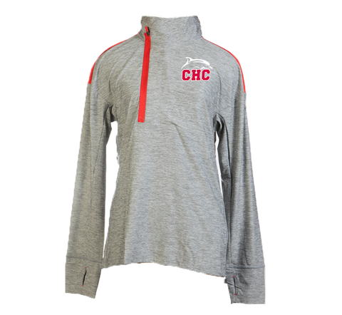 UA Grey Hotshot 1/2 Zip - Women's