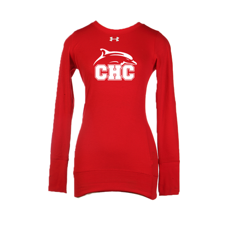 UA Red ColdGear® Infrared Long Sleeve - Women's