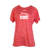 UA Short Sleeve Twisted Tech Locker T - Women's