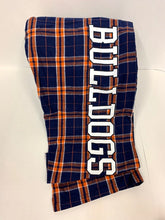Load image into Gallery viewer, Bulldogs Flannel Pants - Youth