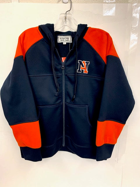 NA Colorblock Zip Jacket - Youth