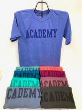 Load image into Gallery viewer, Comfort Colors Academy Tonal Design T-Shirt