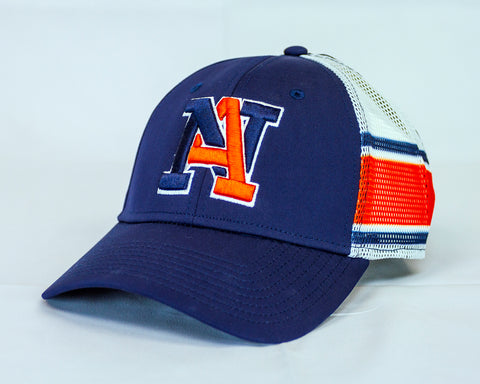 NA Blue Decorated Mesh Hat