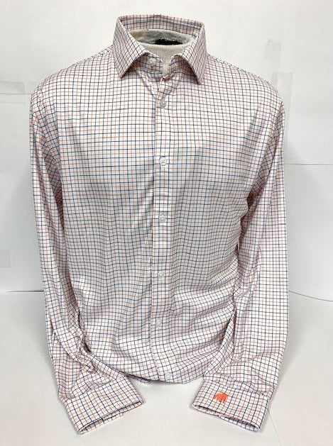 Button Down Performance Dress Shirt by Horn Legend