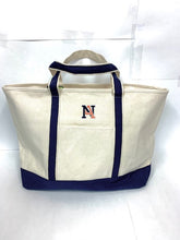 Load image into Gallery viewer, NA Canvas Boat Tote