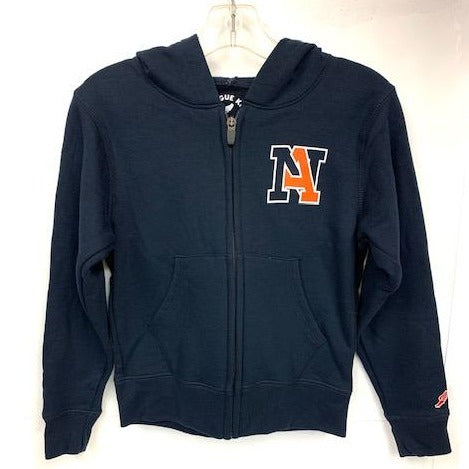NA Full-Zip Hooded Sweatshirt by League - Youth