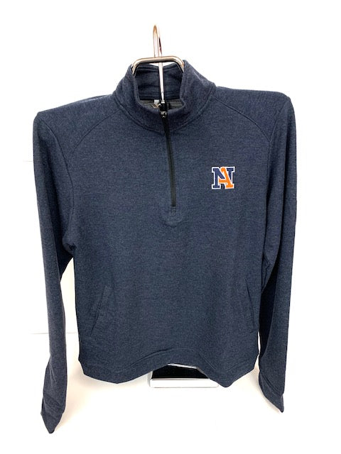 NA Triblend 1/4 Zip Pullover Sweatshirt - Youth