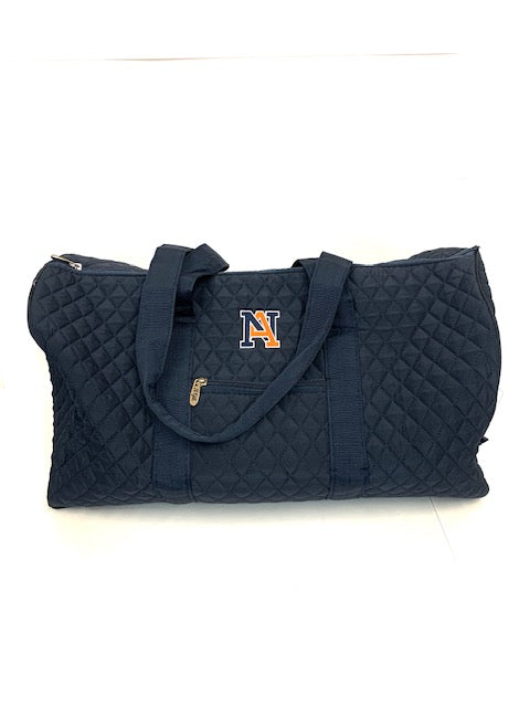 NA Quilted Duffle Bag