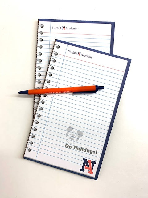 NA Notepad and Pen