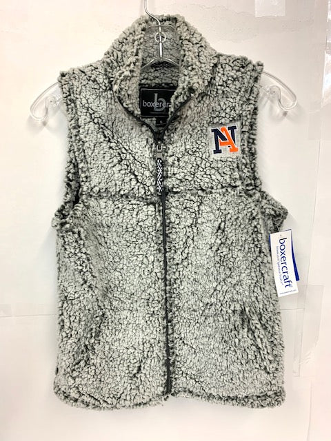 Sherpa Fleece Vest - Youth
